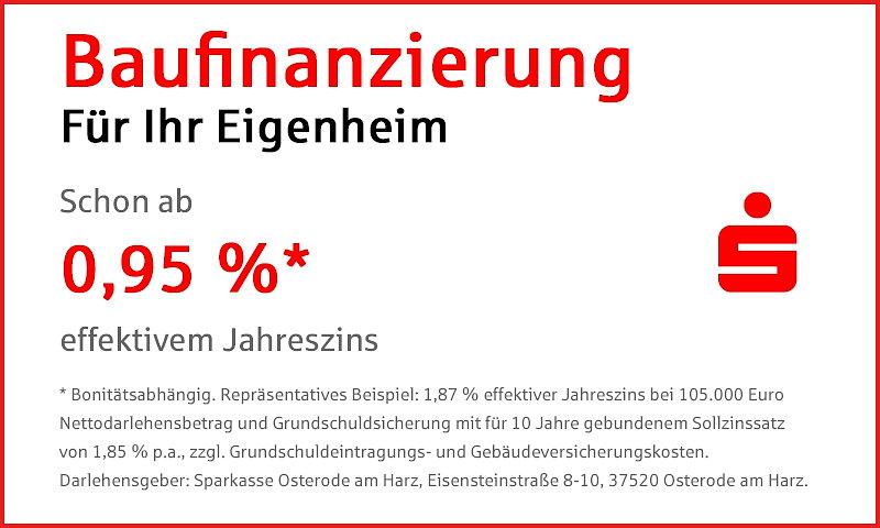 Baufinanzierung für Ihr Eigenheim - Sparkasse Osterode am Harz