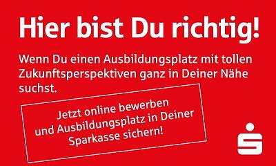 Sparkasse Osterode am Harz - Jetzt bewerben