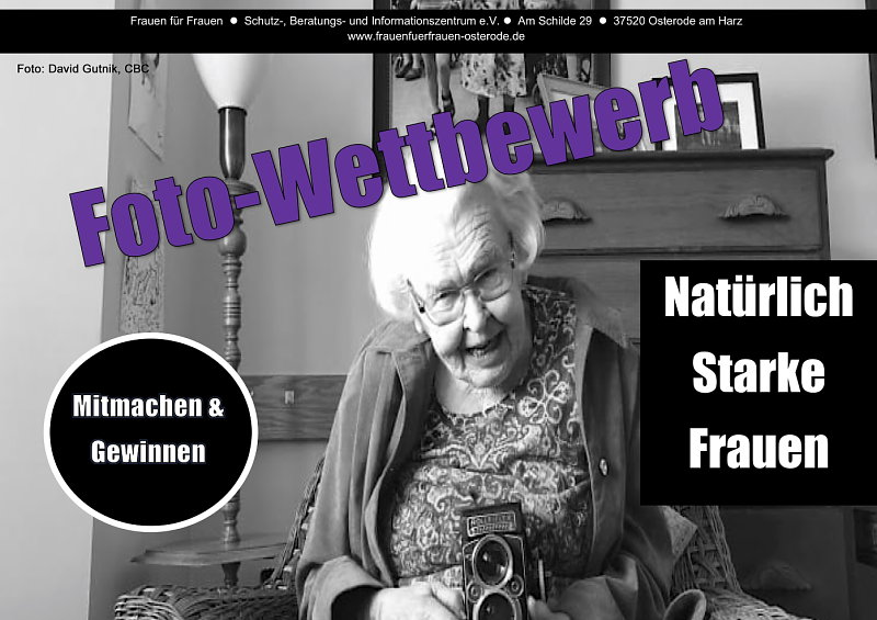 """Frauen für Frauen Osterode e.V. - Fotowettbewerb """"Natürlich Starke Mädchen"""""""