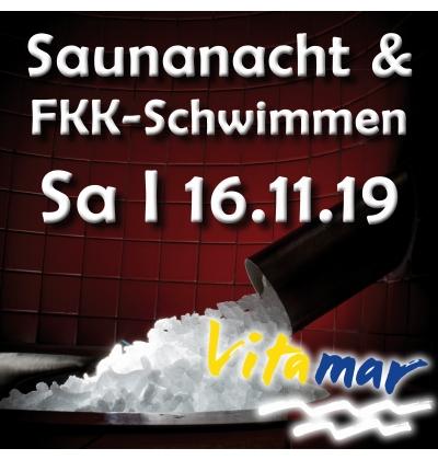 Erlebnis im Vitamar - Saunanacht und FKK-Schwimmen