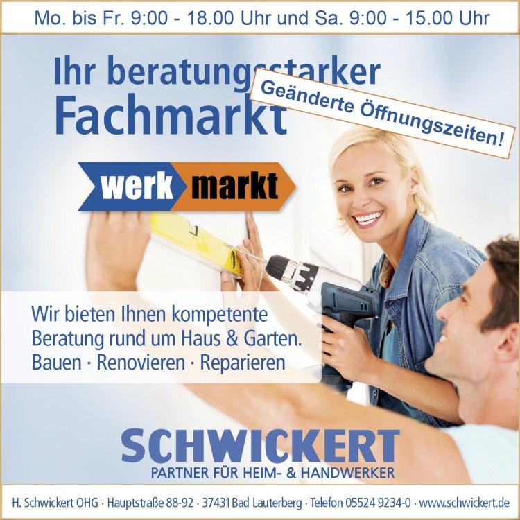 Schwickert  Werkmarkt