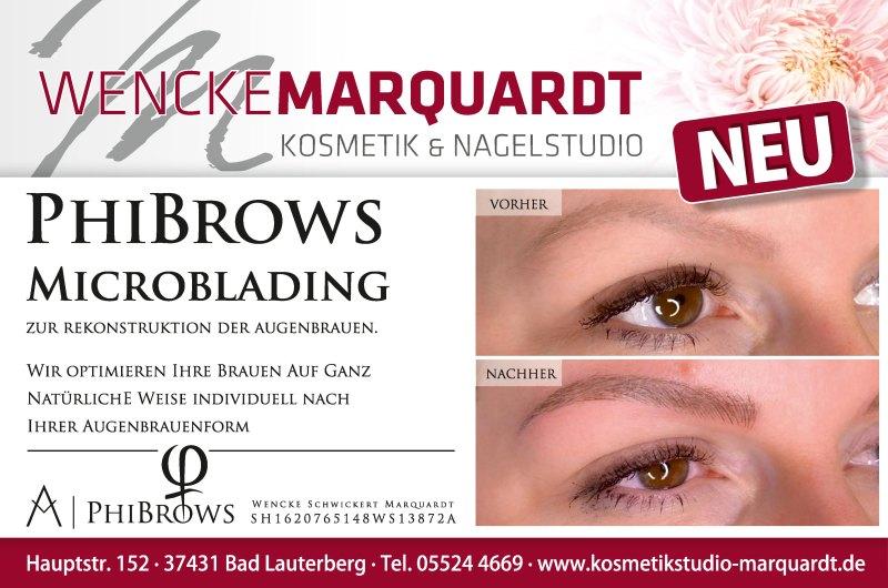 Phibrows Microblading - Kosmetikstudio Marquardt