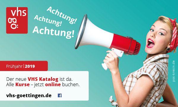 Das Frühjahrsprogramm ist da! Volkshochschule Göttingen-Osterode gGmbH