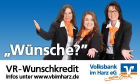 VR-Wunschkredit - Volksbank im Harz eG