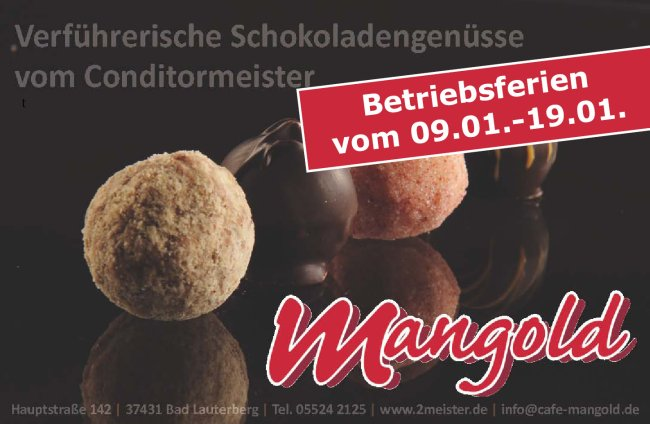 2-Meister-Conditorei Café Mangold