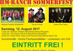 Sommerfest auf der Harz Mountains Ranch