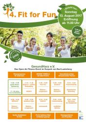 Fit for fun: Fitnessevent im Kurpark