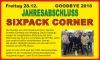 Jahresabschluss mit Sixpack Corner