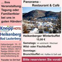 Weiterlesen: Heikenberger Winterbuffet (2)