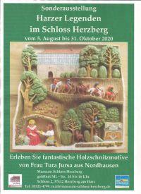 Weiterlesen: Harzer Legenden im Schloss Herzberg