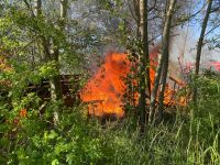 Weiterlesen: Brand unter einer Hochspannungsleitung