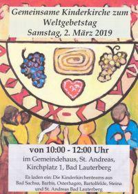 Weiterlesen: Gemeinsame Kinderkirche...