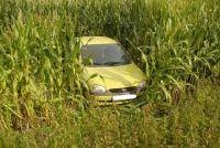 Weiterlesen: Auto landet im Maisfeld