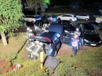 Weiterlesen: Auto durchbricht Hecke und kracht in geparkte Wagen