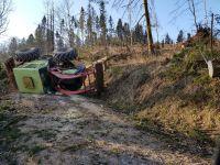 Weiterlesen: Umgestürzte Holzrückemaschine und Heckenbrand