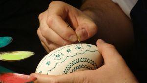 Das Bemalen der Eier wurde zur Kunstform