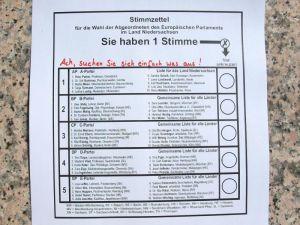Abb.4: Stimmabgabe
