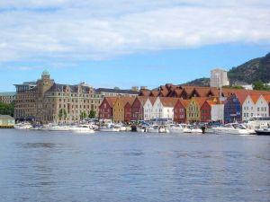 Bergen – das Hafenviertel Tyske Bryggen.