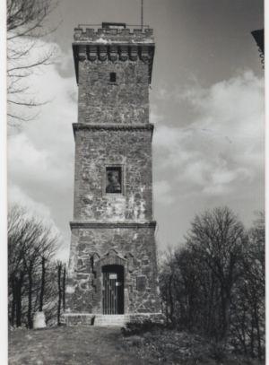 Der Bismarckturm 1904. Foto: Archivgemeinschaft