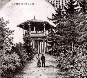 Der Kummelturm war der Vorläufer des Bismarckturms. Bild: Archivgemeinschaft