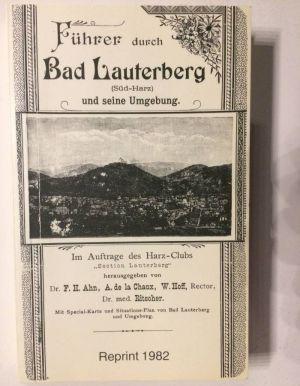 """Der """"Führer durch Bad Lauterberg und seine Umgebung"""", erschienen 1892."""