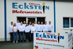 Das Team um Malermeister Oliver Eckstein kann im September 2019 das 40-jährige Betriebsjubiläum feiern.