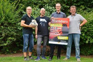 Hammerharte Arbeit: Andreas Sack (von links), Christian Dolle, Christoph Lampert und Roland Lange mussten für die Shortlist des von ihnen vergebenen Preises schwere Entscheidungen treffen.