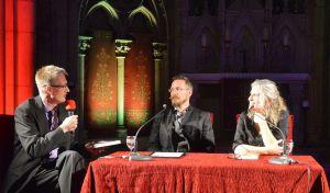 Christoph Lampert im Interview mit Ane Riel und Uve Teschner.