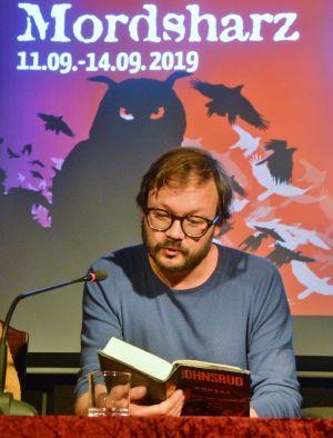 Legt Wert auf Atmosphäre: Ingar Johnsrud aus Norwegen...