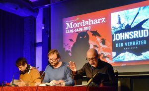 ...Autorin und Journalistin Margarete von Schwarzkopf interviewte die Beiden zum Abschluss.