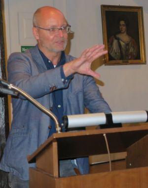 Prof. Freund verstand es brilliant, die Anwesenden mit der Geschichte um den Sachsenherzog und Deutsche