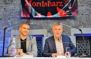 Arne Dahl (rechts) und Peter Lontzek