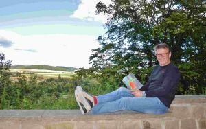 Autor Roland Lange, hier mit dem Vorgänger-Roman