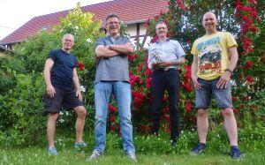 Andreas Sack, Roland Lange, Christoph Lampert, Christian Dolle