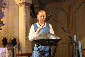 ...und die Handpan (Hang) erzeugten außergewöhnliche Klangwelten