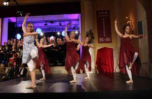 Perfekte Harmonie von Musik und Tanz....