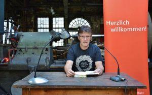 Autor und Mitorganisator Roland Lange.