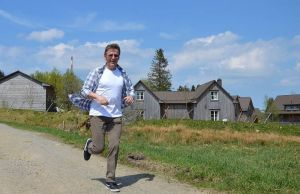 Dieser Weg dient Roland Langes Hauptfigur als Fluchtweg.