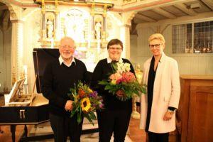 Die Kulturkreis-Vorsitzende Cornelia Bär konnte sich über ein gelungenes Konzert im Rahmen der Bad Lauterberger Musiktage freuen