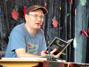 """""""Die drei ???""""- Autor Christoph Dittert macht bereits zum dritten Mal beim Mordsharz mit. (Fotos: Boris Janssen)"""