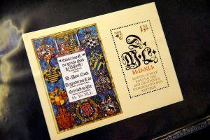 Während die DDR Luther zum 500. Geburtstag im Jahr 1983 mit üppigen Postwertzeichen für sich vereinnahmen wollte…