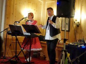 Edy en de Veras unterhielten das Publikum mit Oldies.
