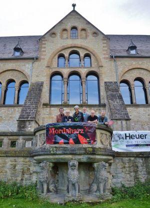 …der Kaiserpfalz in Goslar.