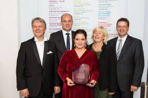 Verleihung des Nordhäuser Theaterpreises 2017. Foto: Andras Dobi
