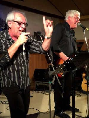 …auf der Bühne sind die Beiden mindestens noch so fit wie Mick Jagger und Keith Richards.