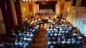 Das Philharmonische Kammerorchester Wernigerode....