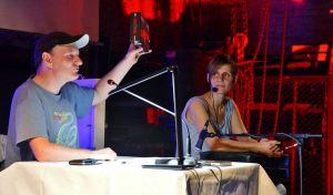 Christoph Dittert und Almut Schwacke hatten in der Kaiserstadt ihren zweiten Mordsharz-Auftritt…