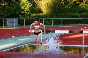 Blanka Dörfel qualifizierte sich über 2.000 Meter Hindernis für die Welt-Jugendspiele 2019.