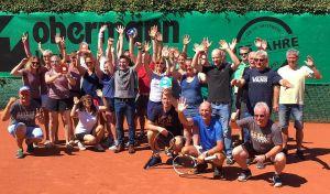Am Ende freuten sich alle Teilnehmer der Endrunde über ihre Erfolge.