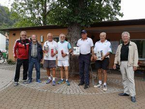 Sportwart Peter Lehnen, Wolfgang Lange, Team Seesen I (Gerhard Wagner, Wolfgang Bertram), Team Bad Sachsa (Klaus Schuchardt, Bernd Watterott), Gero Fröhlich